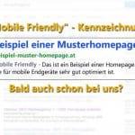 Mobile Friendly Kennzeichnung bei Google